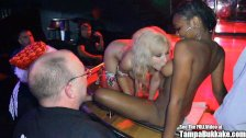 Seks Gangbang W Klubie Ze Striptizem